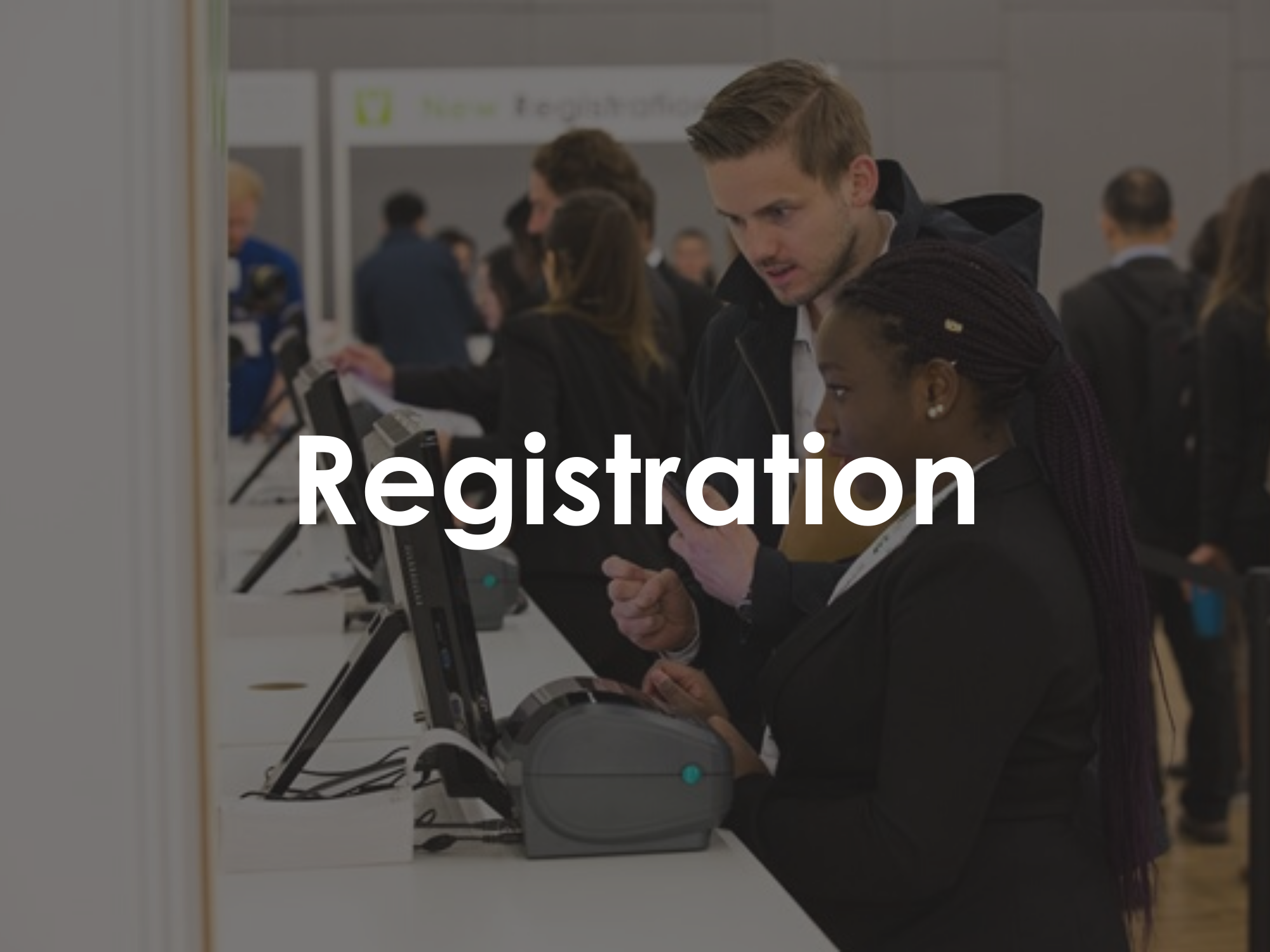 Sponsor Registration at Vitafoods Europe